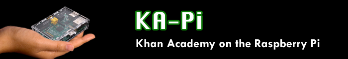 Khan Academy on a Raspberry Pi